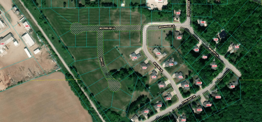 710 Moon Beam Ln,Francis Creek,Wisconsin 54214,Land/Lots,Moon Beam,1337