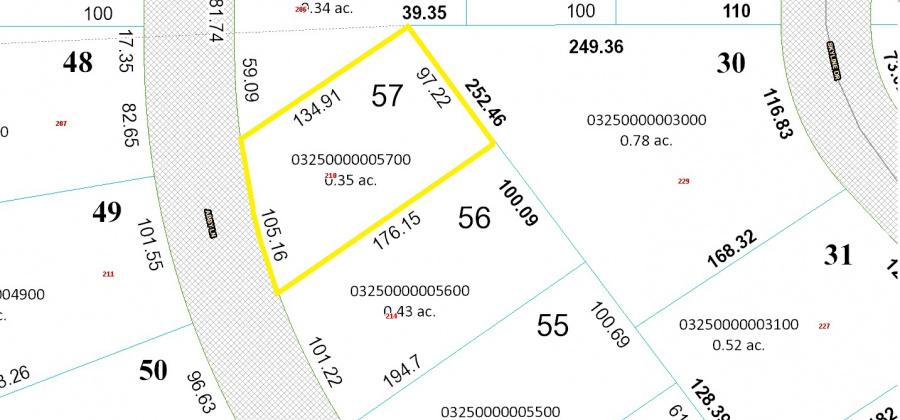 210 Abby Ln,Francis Creek,Wisconsin 54214,Land/Lots,Abby,1347