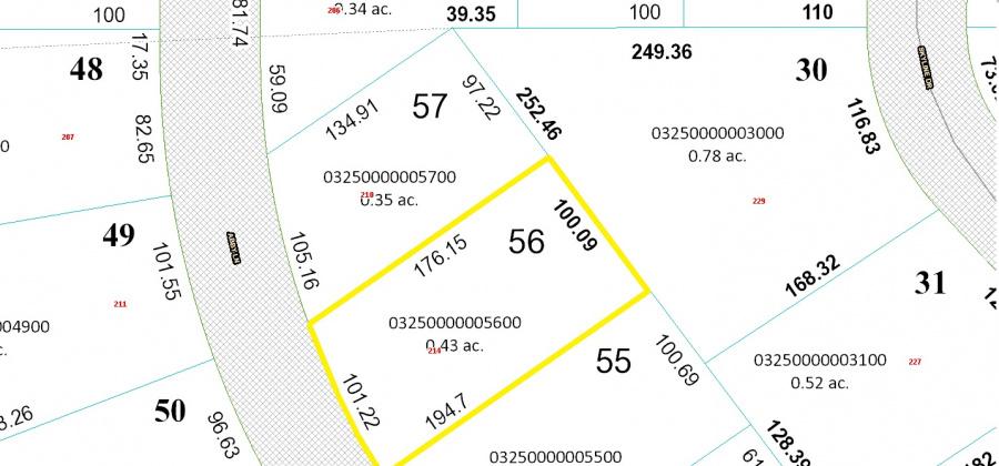 214 Abby Ln,Francis Creek,Wisconsin 54214,Land/Lots,Abby,1349