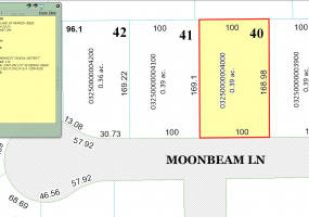808 Moon Beam Ln,Francis Creek,Wisconsin 54214,Land/Lots,Moon Beam,1354